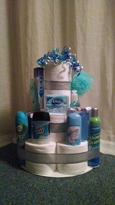 Housewarming Toilet Paper Cake for @Kalli Haapoja