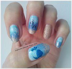 Alphabet nail art challenge - Letter S