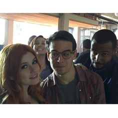 We ❤️ the #Shadowhunters cast!