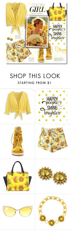"""""""Happy People Shine Brighter"""" by jgee67 ❤ liked on Polyvore featuring Murphy, Vince Camuto and Tom Ford"""