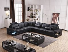 Sofa Set Designs, Sofa Design, Family Room Furniture, Modern Leather Sofa, Living Room Designs, Living Rooms, Decoration, Accent Decor, Sally