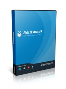 Introducing The All New Able2Extract 9 With PDF Creation!