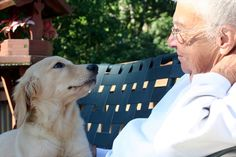 Pets and Senior Citizens: Adopt for Better Health