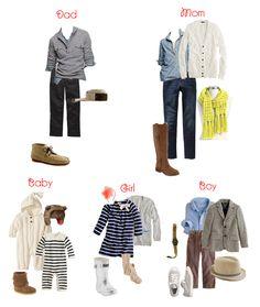 Neutral/Classic Family Portrait Clothing Ideas