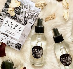 There are a few bottles of Aura Elixir left! This is my favorite magical mix of botanicals and floral waters infused with crystal medicine. With an uplifting scent that eases your mind and releases…