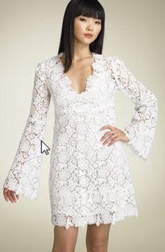 1970s wedding gown