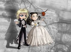 Jareth and Sarah Ballgown by thedustyphoenix