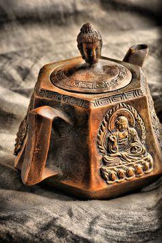 Beautiful antique tea pot.