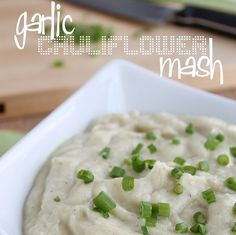 It's not the first cauli-mash recipe, but definitely the BEST! thick texture and full of flavor...you won't even miss the real thing!