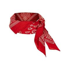 TopShop Paisley Print Neckerchief (44 DKK) ❤ liked on Polyvore featuring accessories and topshop