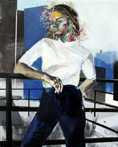 "Saatchi Art Artist Hanna Ilczyszyn; Painting, ""Convoluted"" #art"