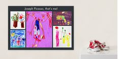 Turn their art into a work of art - Scan a child's artwork, upload them to Snapfish, and create a Collage Poster!