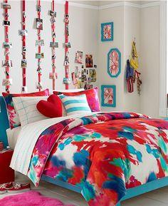 Teen Vogue Poppy Art Comforter Set via Macy's