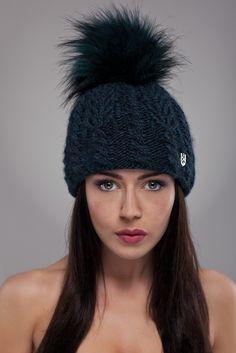 Ulter czapki - Model 29 #ulter #caps #woll #winter #inspiration #fashion