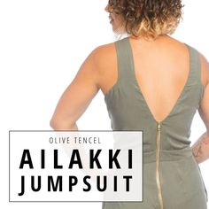 Read Aimee's review of the Ailakki Jumpsuit by Named Clothing! | Indiesew.com