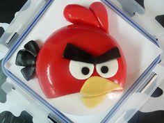 Angry Birds Birthday Cake - Cherry Red