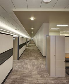 The challenge: create a spacious, creative, and functional environment for the Colony Brands merchandising team with an innate sense of movement throughout the open space. The solution: Subtle organic patterning in a Milliken #modularcarpet proven to perform.