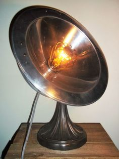 Large-UpCycled-Vintage-Calor-Heat-Lamp-Industrial-Steampunk-Table-Lamp-Light