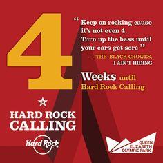 4 Weeks until #hrcalling 2013! #hardrock