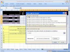 Excel Facil Truco #26: Formato condicional en celdas para Diagrama de Gantt - YouTube. Bajar el libro de trabajo: http://www.excelfacil123.com.ar/ Como usar Formato Condicional para hacer un Diagrama de Gantt con las celdas. Como usar Formato Condicional para seleccionar un rango de celdas que muestran un periodo de tiempo https://www.youtube.com/watch?v=etDUDGFgH6M