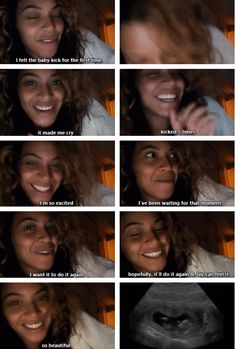 Queen Beyoncé being adorable