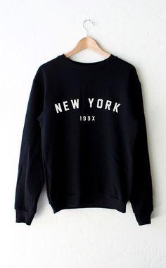 New York 199x Sweater - Black