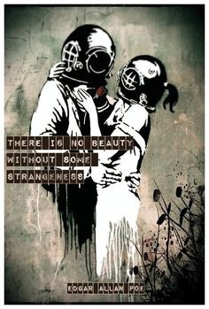 Available for sale from EHC Fine Art, Banksy, Think Tank Offset lithograph, 60 × 40 in Banksy Work, Banksy Graffiti, Banksy Stencil, Banksy Canvas, English Posters, Graffiti Pictures, Street Artists, Lovers Art, Artsy
