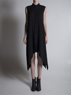 Poncho Sleeveless Dress | Forme d' Expression