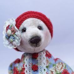bear teddy cute bear a toy gift handmade toy bear in clothes girl bear collectible toy teddy bear teddy babe teddy bear from Russia