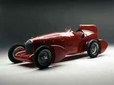 Alfa Romeo Tipo B Aerodynamica (1934) Maintenance of old vehicles: the material for new cogs/casters/gears/pads could be cast polyamide which I (Cast polyamide) can produce
