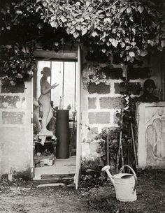 Aristide Maillol's atelier, Marly-le-Roi, 1936 -by Brassaï