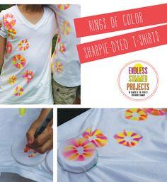Great idea: Sharpie DyedShirts
