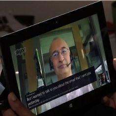 Microsoft Demos Real-Time Skype Language Translator