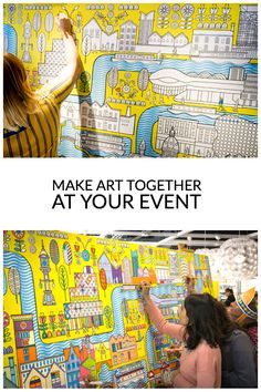 Tell us your ideas & we'll create a custom coloring wall for your event or brand. Perfect for conferences, corporate events, marketing or office parties.
