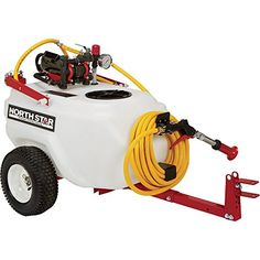 NorthStar HighPressure Tow Behind TreeOrchard Sprayer  21 Gallon 2 GPM 12 Volt * Want to know more, click on the image.