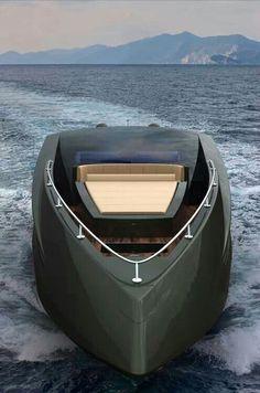 Stealth yacht