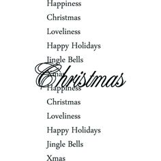 Christmas Sparkling ❤ liked on Polyvore featuring christmas, words, text, xmas, holiday, phrase, quotes and saying