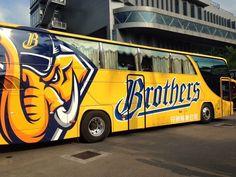 2015 BROTHERS BASEBALL CLUB - Bus Design / Designed by Plugin B&V