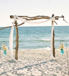 arbors on the beach and starfish on pinterest