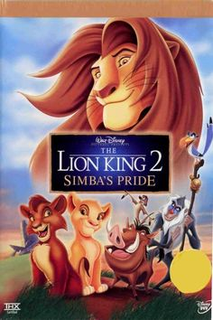 Available in: DVD. This direct-to-video sequel to the box-office smash The Lion King gets the royal treatment for this release on DVD. The Lion Dvd Disney, Simba Disney, Walt Disney Movies, Disney Songs, Disney Love, Pixar Movies, Cartoon Movies, Comedy Movies, Disney Cartoons