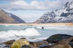 Surfing the Arctic Ocean Online Shipping, Lofoten, Order Prints, Arctic, My Images, Norway, Exploring, Islands, Skiing