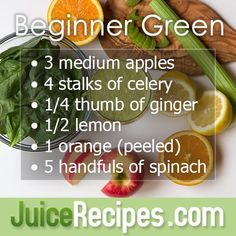 This juice recipe is great for both beginners and expert juicers alike!