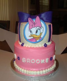 Daisy Duck cake, I'd like to think I can handle this!