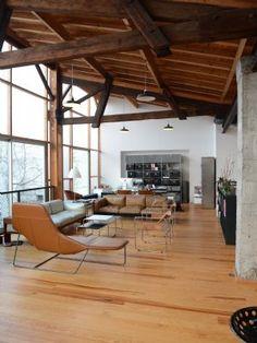 Bordeaux, un loft primé né d'une ancienne chaudronnerie.  Ateliers, Lofts & Associés - Première agence immobilière exclusivement spécialisée dans la vente d'ateliers d'artistes, lofts et maisons de ville : LOFT