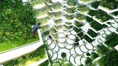Cao ốc nông trại Urban Skyfarm / thiết kế: Aprilli Design Studio