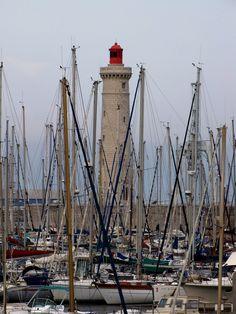 St Louis Lighthouse, Sete port,France