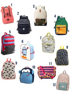 Want to send your kids back to school in style? @smallfryblog finds the best backpacks!