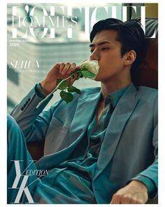 [EXO] SEHUN in photoshoot and interview for April's L'Officiel Hommes Baekhyun Chanyeol, Sehun Hot, Exo Kai, Park Chanyeol, Nct 127, Got7, Luhan And Kris, Mundo Comic, Hunhan