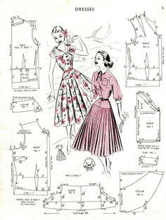 Free Vintage Coat Sewing Pattern Sewing Patterns Coat