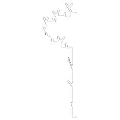 CASANOVA Møbler — Maze int. - Wire Half Tree Left